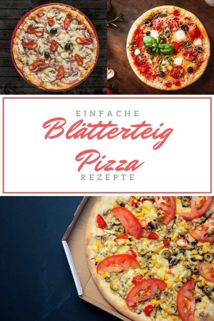 Blätterteig Pizza  So einfach machst du ihn selber So gut wie jeder isst gerne Pizza Doch wie wäre es einmal mit einer Blätterteig Pizza  Probiere das Bl&a...
