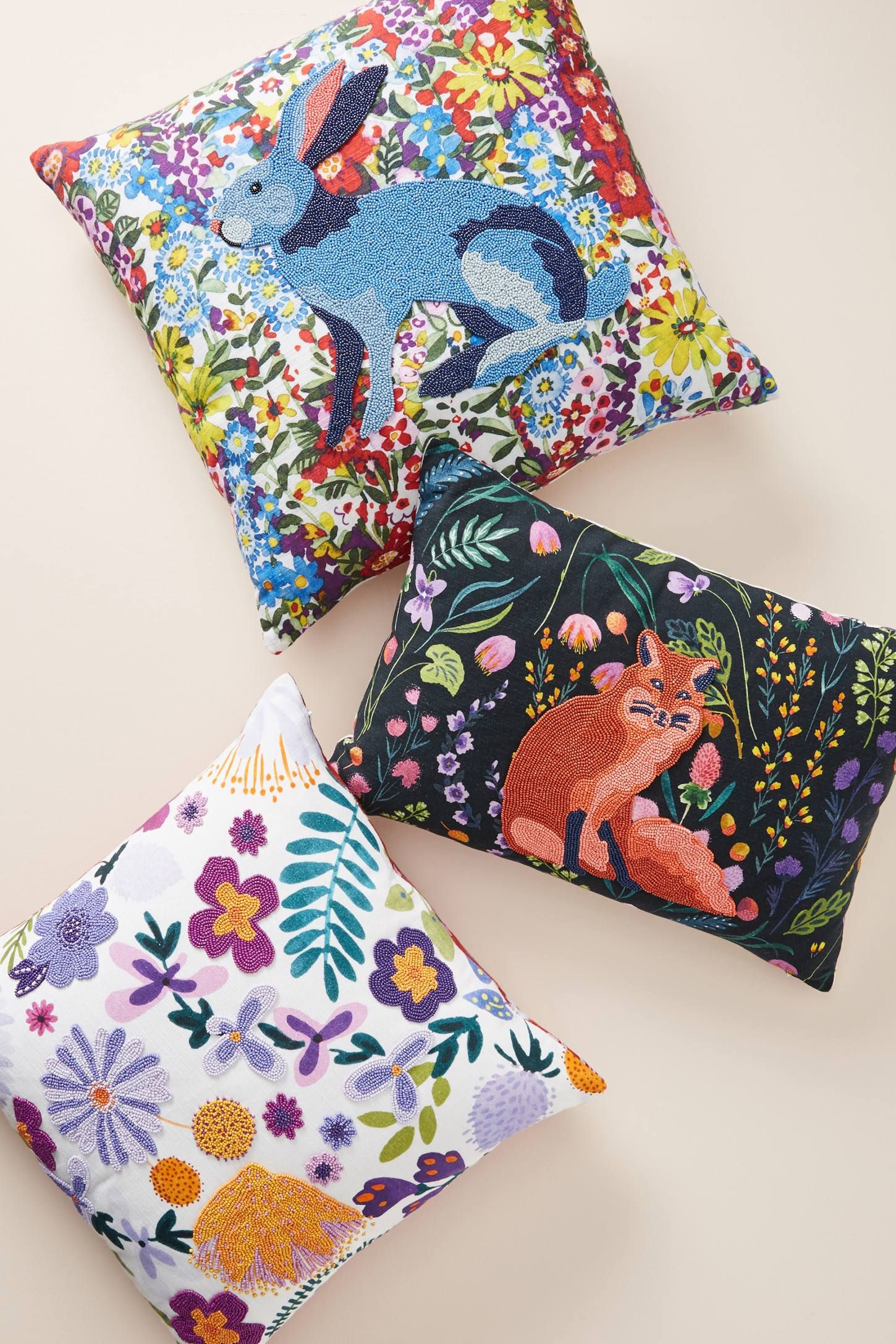 Ollie Pillow Anthropologie Design your own home