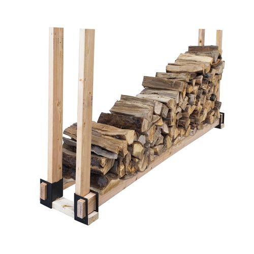 Pleasant hearth pleasant hearth steel log rack brackets for do it pleasant hearth steel log rack brackets for do it yourself firewood storage systems log r solutioingenieria Choice Image