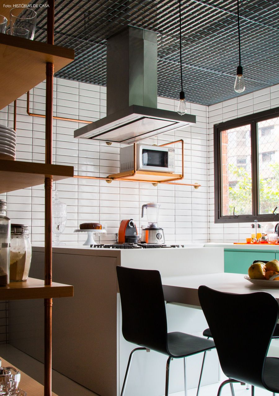 Inspira O Industrial Na Cozinha Pinterest Decora O Cozinha