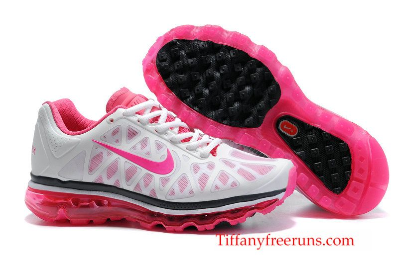 Womens Nike Air Max 2011 Pink White Black Sneakers, Pink Sneakers For Womens  Pink Shoes over off