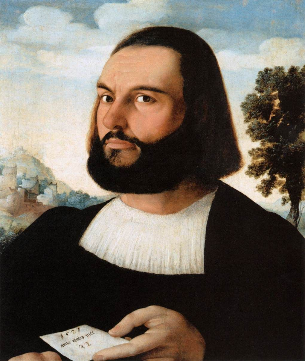 Portrait d'un homme, Jan van Scorel
