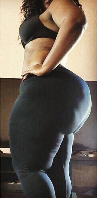 Fat black women booty