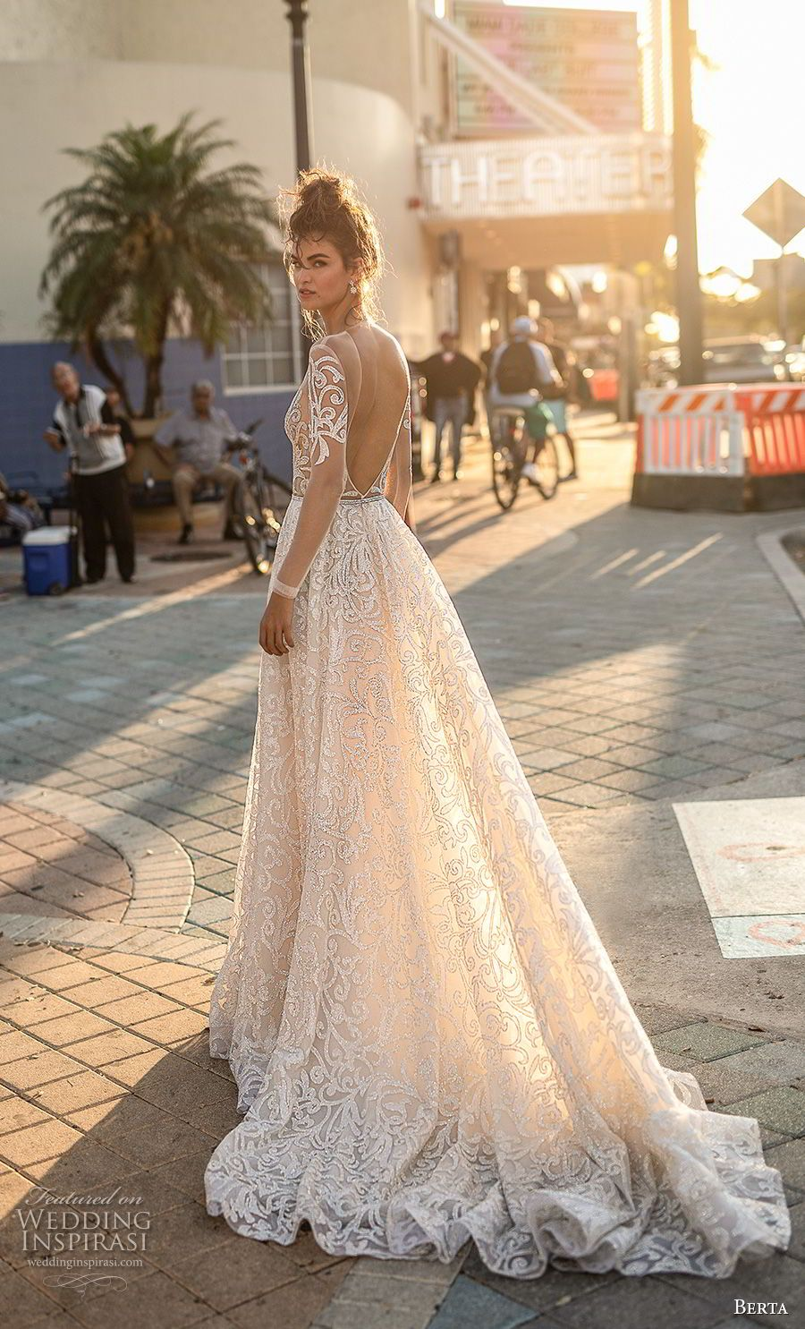 Berta spring wedding dresses u ucmiamiud bridal collection
