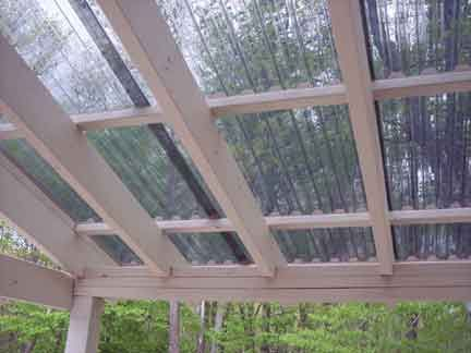 Image detail for -Grillzebo Gazebo Pergola Suntuf corrugated roof panels  Palram ... Porch - Pin By Trish Schumacher On Pergolas Your Way Pergola, Patio, Gazebo