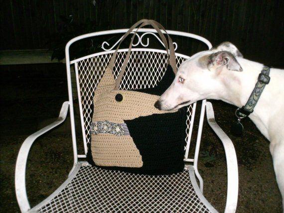 Greyhound Purse Crochet Pattern Pdf File Instant By Aeriedesigns