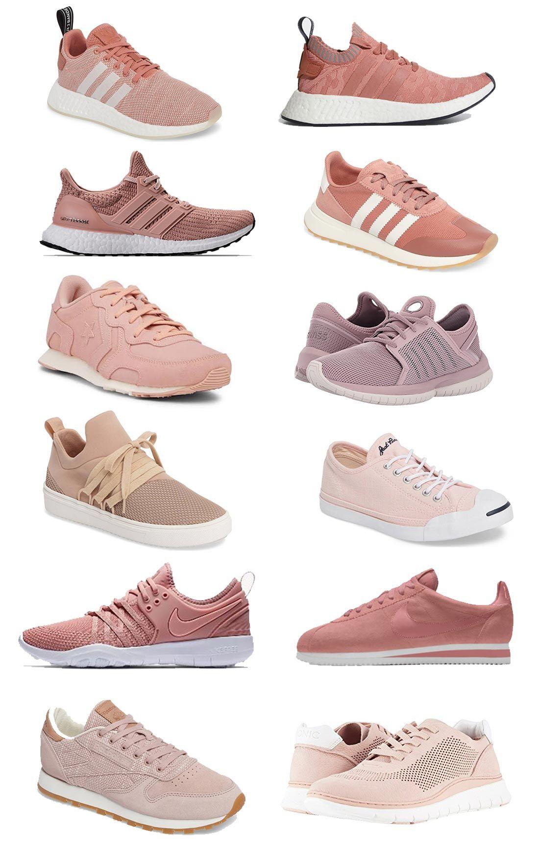 Blush Tennis Shoes