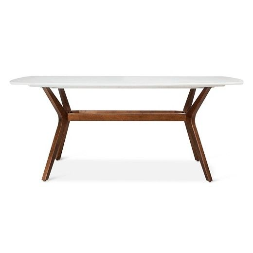 Westbrook Mid Century 72 Rectangle Dining Table