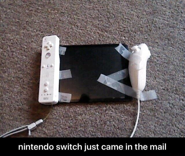 The Nintendo Switch is already out! - ImgLulz | ImgLuLz ...