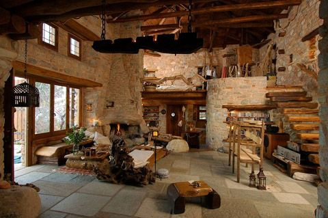 Wood And Stone House stone house designedmatteo cetinski for mirko di matteo