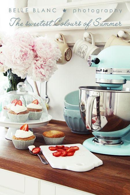 Iceblue Kitchenaid Mixer Home Kitchens Kitchen Dinning
