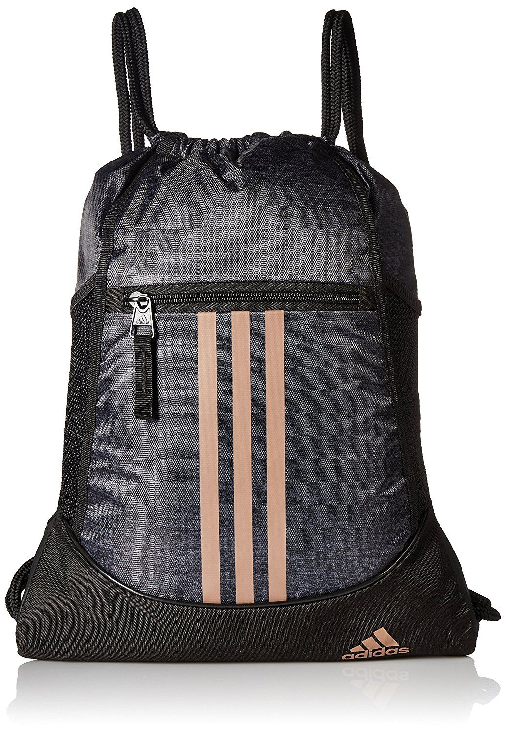 9016d266a7 Details about adidas Alliance Sack Pack Drawstring Gym Bags Unisex ...