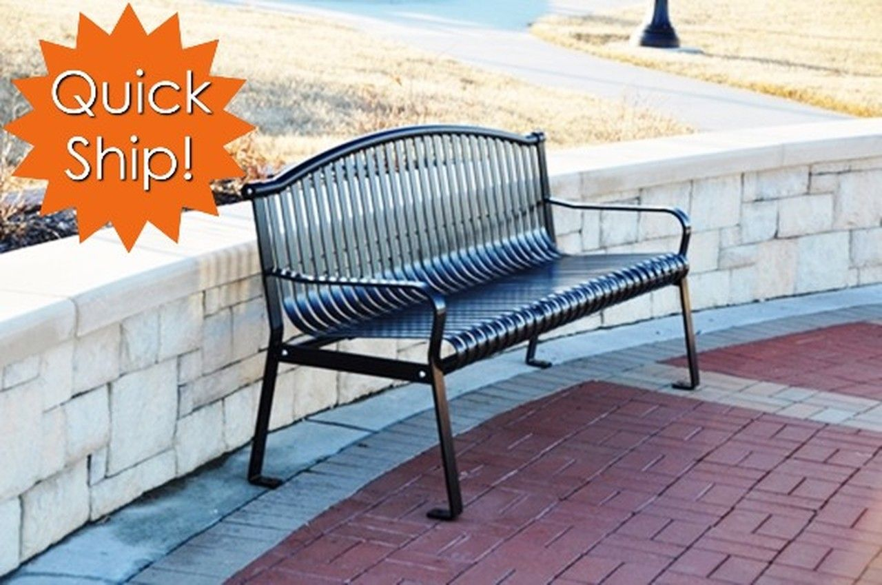Incredible Rockford Bench Quick Ship Items Bench Park Equipment Theyellowbook Wood Chair Design Ideas Theyellowbookinfo