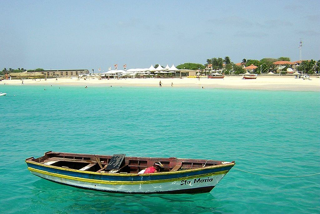Santa Maria Beach Sal IslandCape Verde