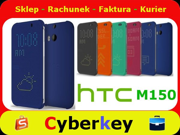 Etui Htc Hc M150 Desire 820 Dot View Blue 5193032285 Oficjalne Archiwum Allegro Dots Htc Blue