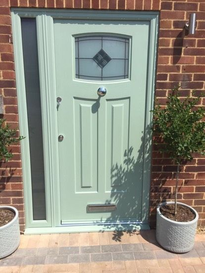 This time fitted with Bright Star glass and central door knob & Another Chartwell Green Newark! This time fitted with Bright Star ...
