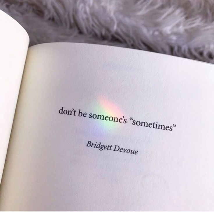 "Photo of Don't be ""somebody"" sometimes."