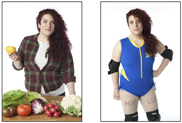 PHOTOS | The Dual Lives of Roller Derby Athletes> Could be a great idea for the website!