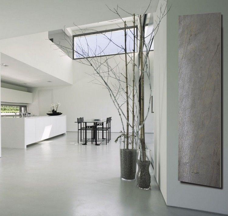 designer-heizkörper in steinoptik - natural slice stone von cosy, Wohnzimmer