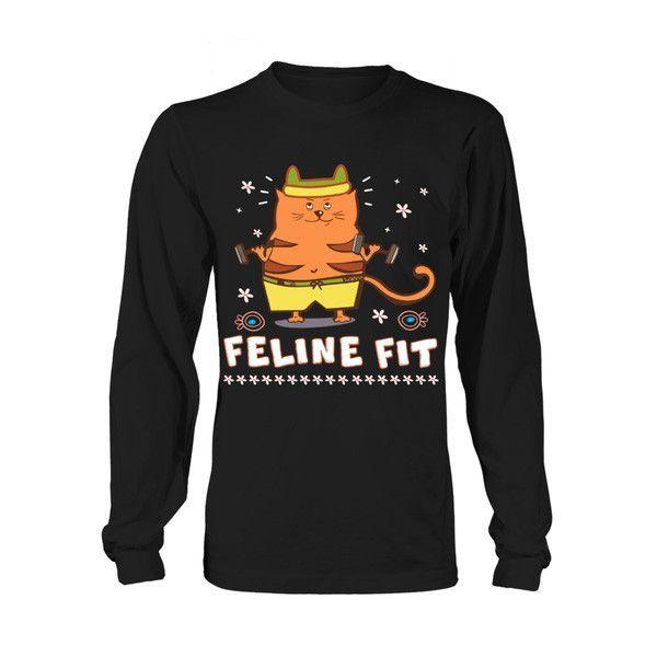 Cat - FELINE FIT -Unisex Long Sleeve - SSID2016