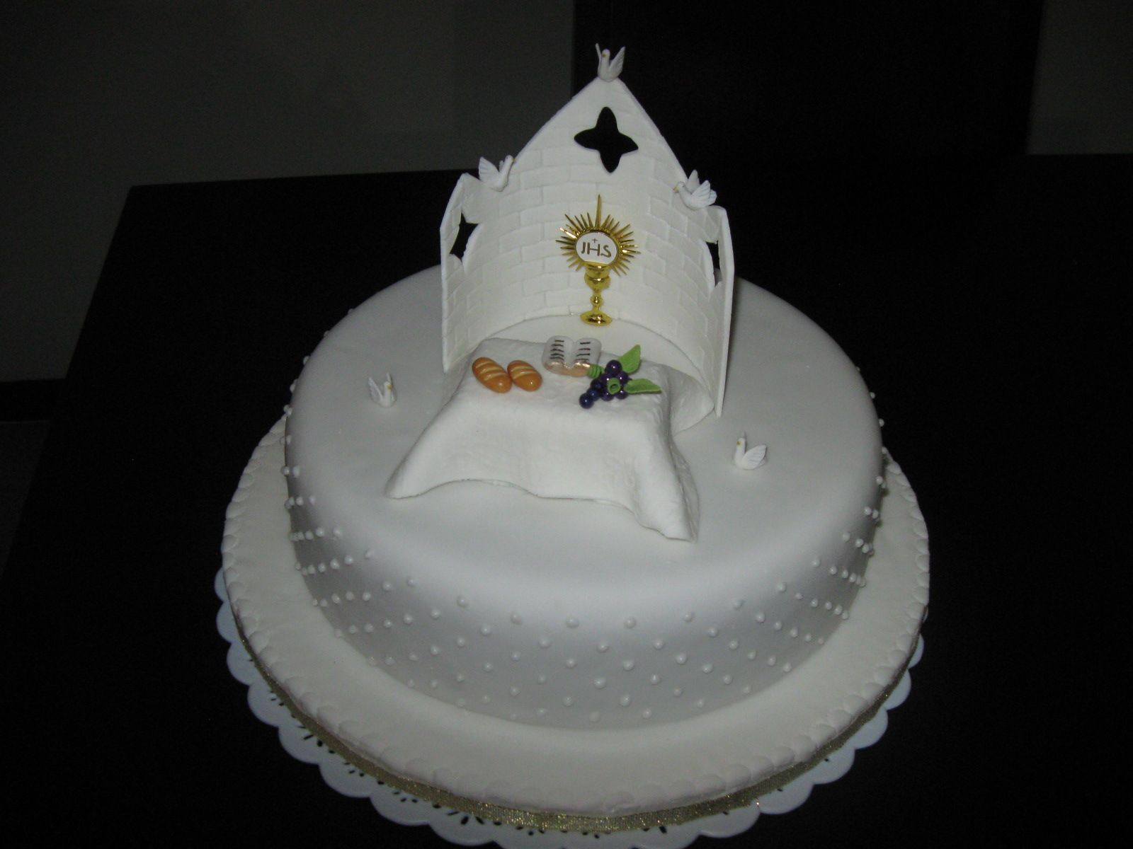 tortas para comunion - Buscar con Google | Tortas decoradas ...