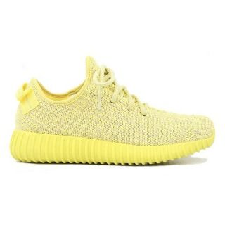 59009fb82 Adidas Originals Yeezy 350 Boost Low Kanye West Yellow Citrus Womens  Running Shoes AQ2666