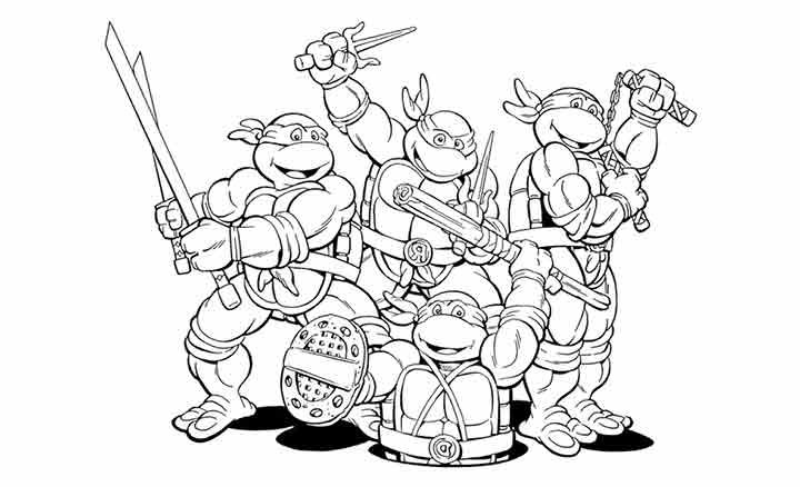 Top 25 Free Printable Ninja Turtles Coloring Pages Online Turtle Coloring Pages Superhero Coloring Pages Superhero Coloring
