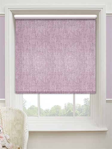 Thermal Luxe Blackout Lilac Roller Blind From Blinds 2go