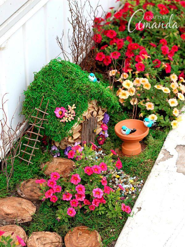 9 encantadoras ideas para el jardín Jardín, Jardines y Jardín de hadas