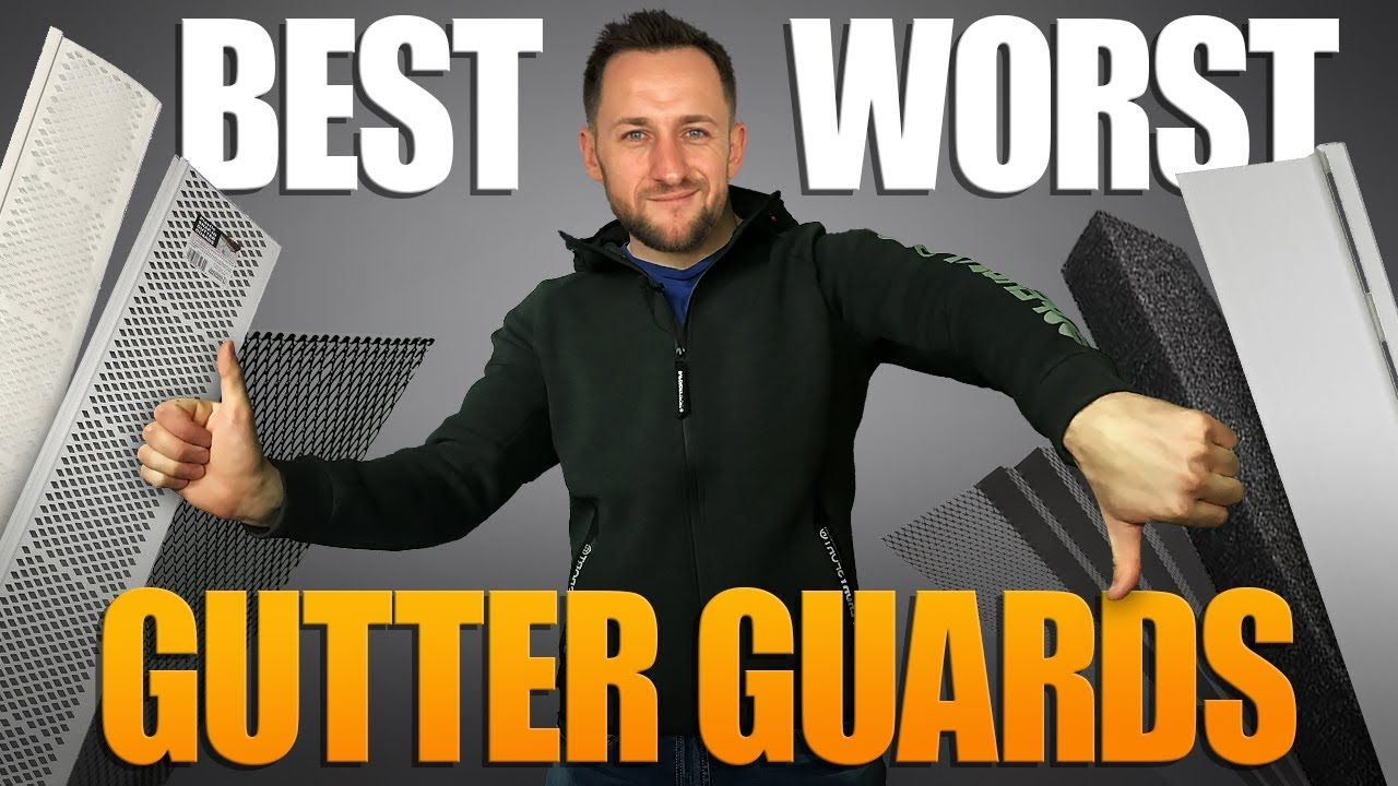 Best and worst gutter guards from lowes home depot