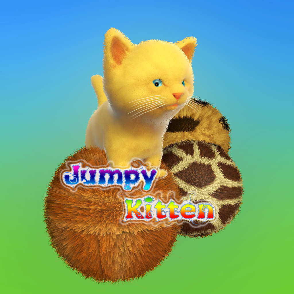 Jumpy Kitten 1 1 Brand New Kitten Game For Ipad And Iphone With Images Kittens Kittens Funny Fun Games