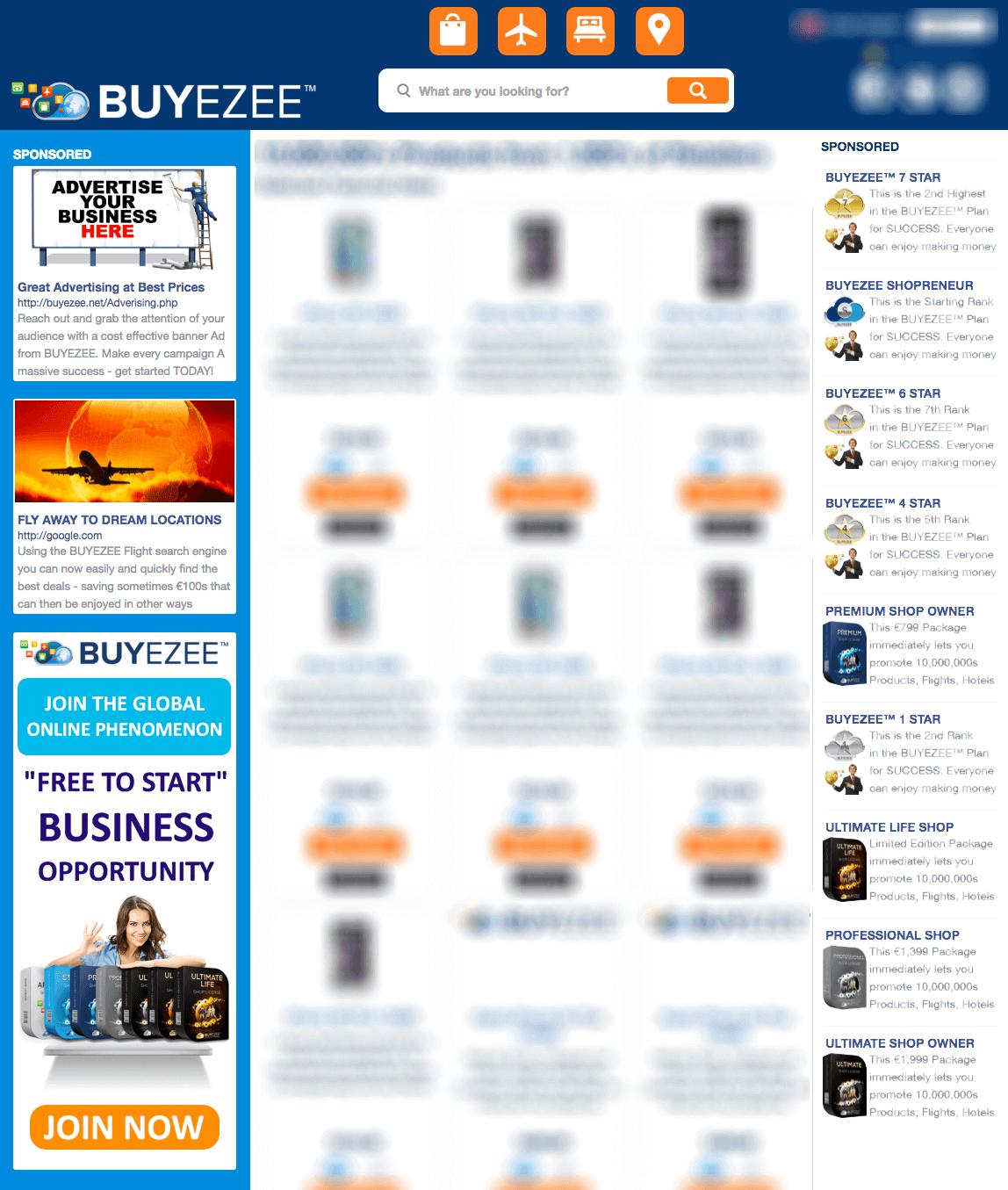 BUYEZEE™ - Werben Sie mit uns