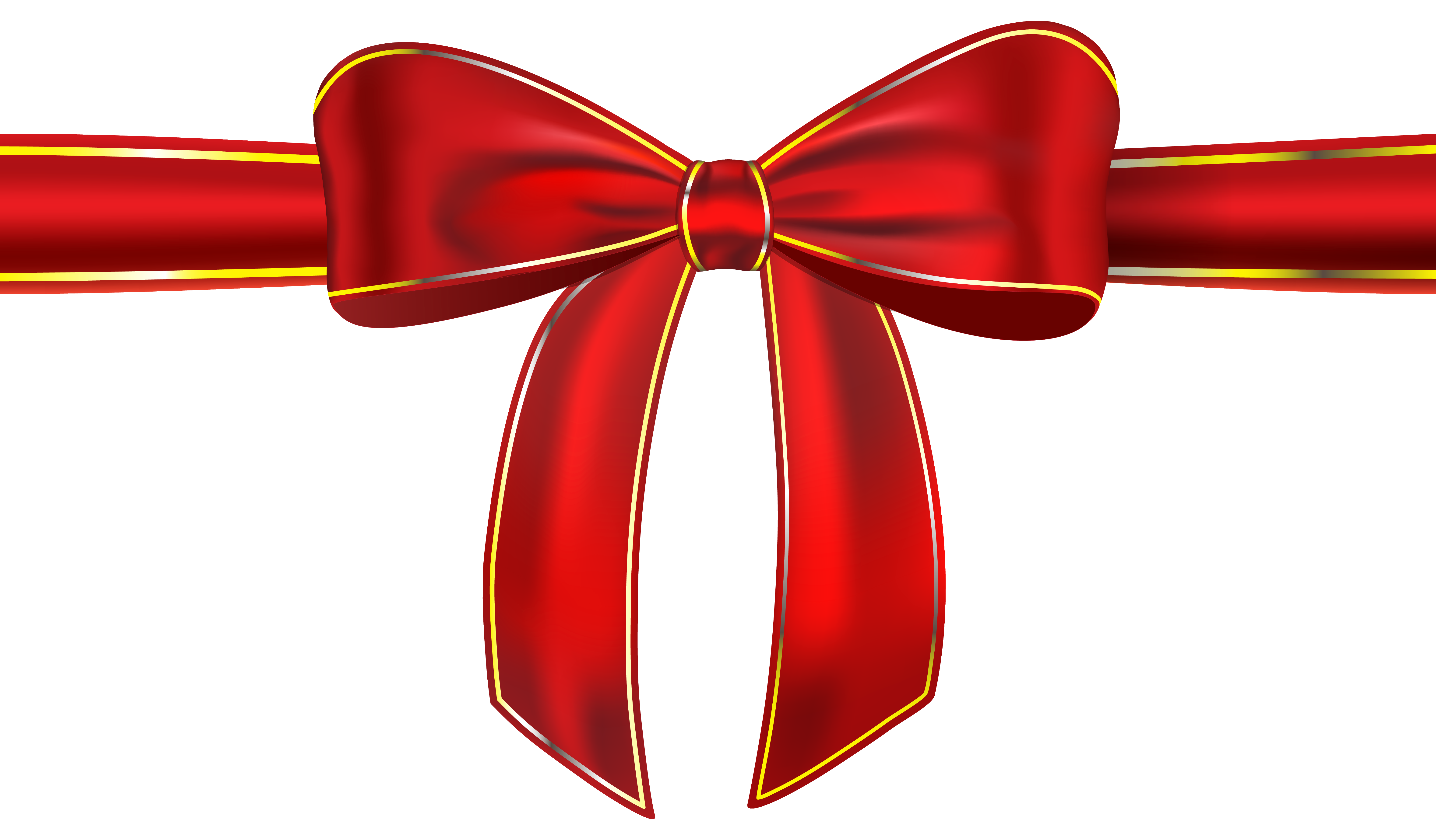 Red Ribbon Bow Clip Art