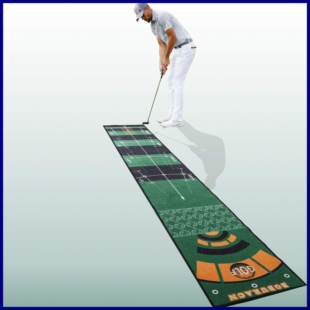 Ad Ebay Boburacn Putting Mat Putting Green Indoor In Extra Long Golf Training Aid Golf Hitting Mats Golf Training Durable