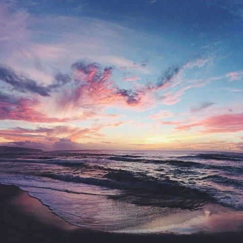 Immagine di sunset, beach, and sea