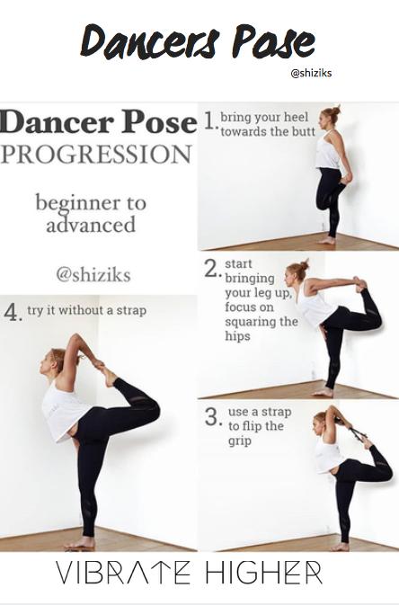 Dancer Pose Yoga For Strength Yoga Tips Yoga Tutorial Dancer Pose Dancer Pose Yoga Dancers Pose