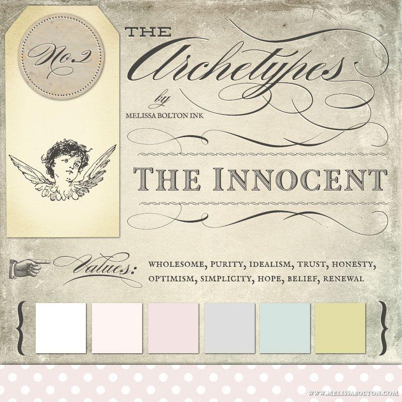 Melissa Bolton's archetypes in branding | The Innocent | Dreamer | Utopian | Romantic | Mystic | Naive