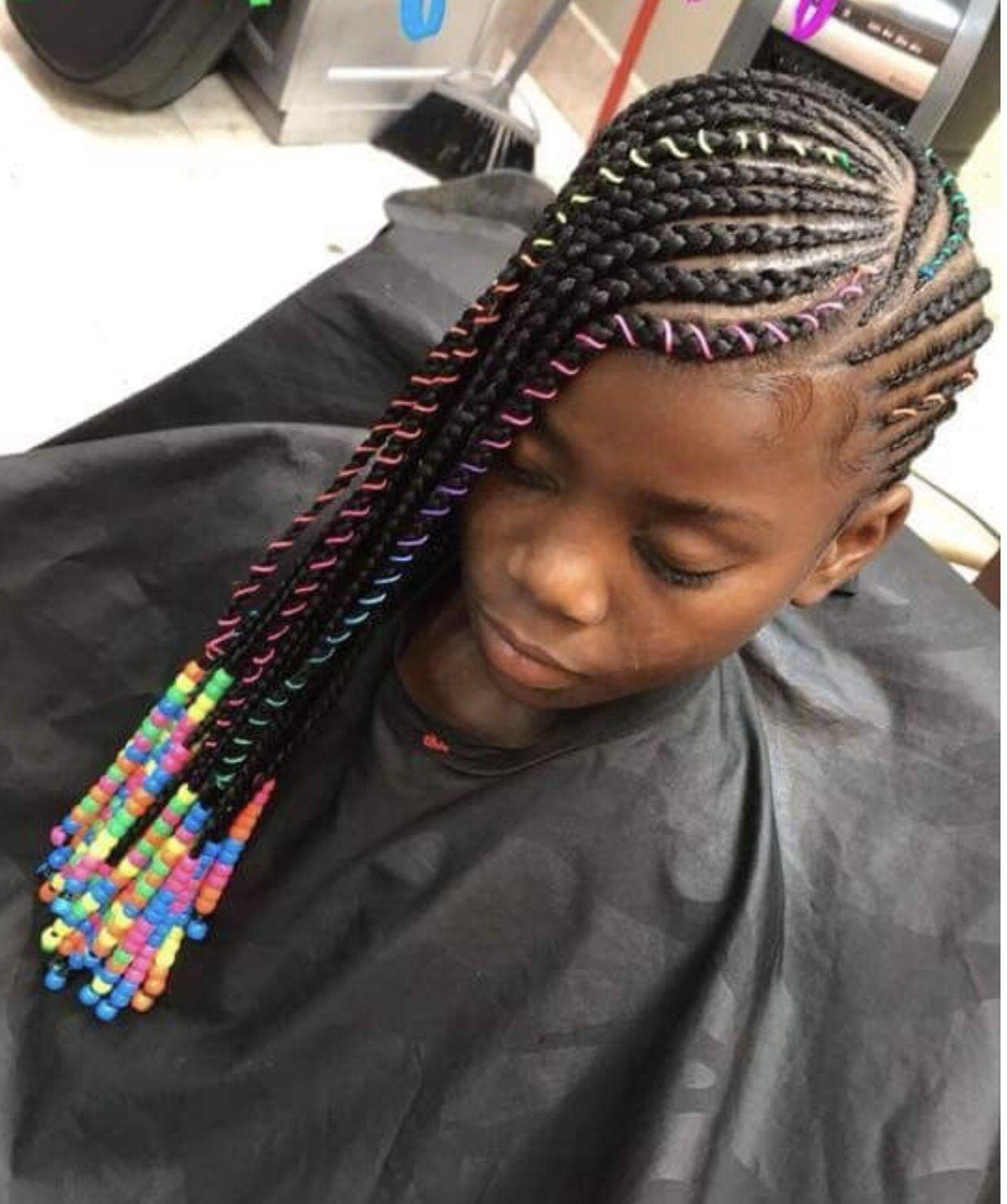Kid braid styles, Kids hairstyles, Kids braided hairstyles