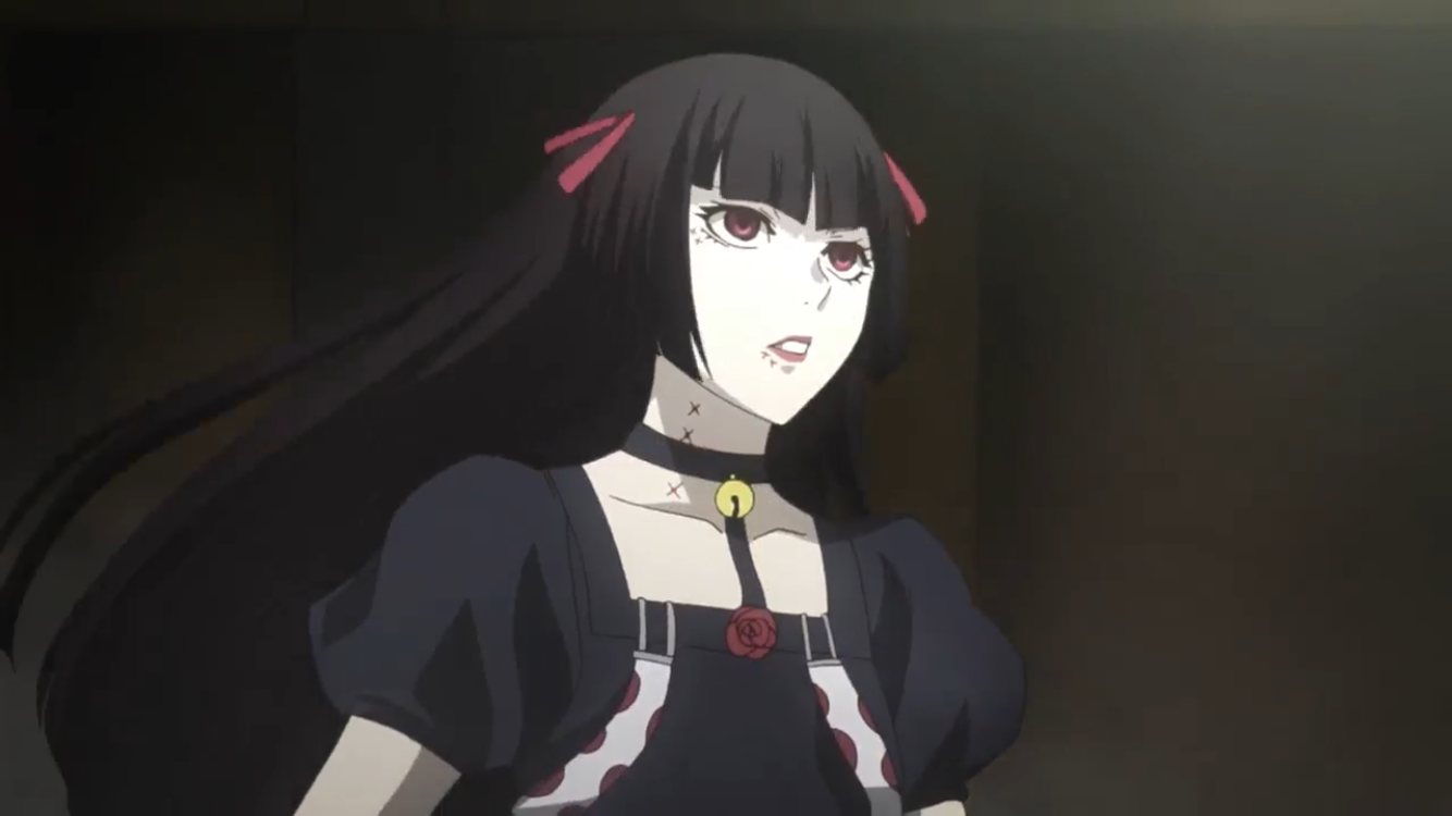 Tokyo Ghoul Re Juuzou Suzuya Wearing A Dress And A Wig For The