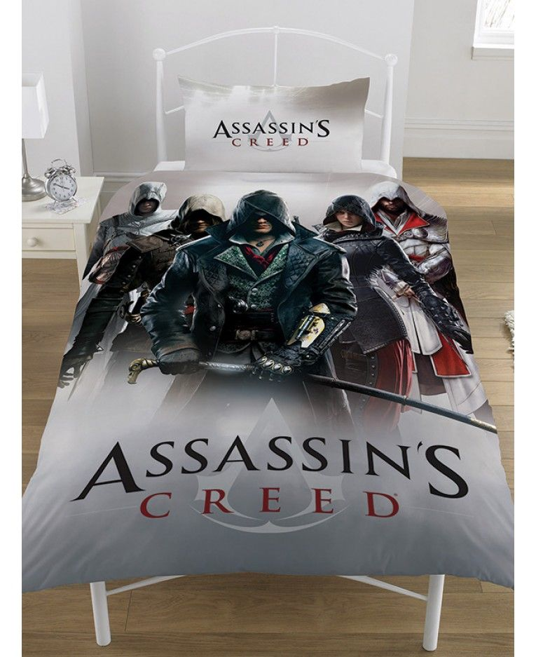 Assassins Creed Legends Towel Assassins Creed Duvet Cover Sets