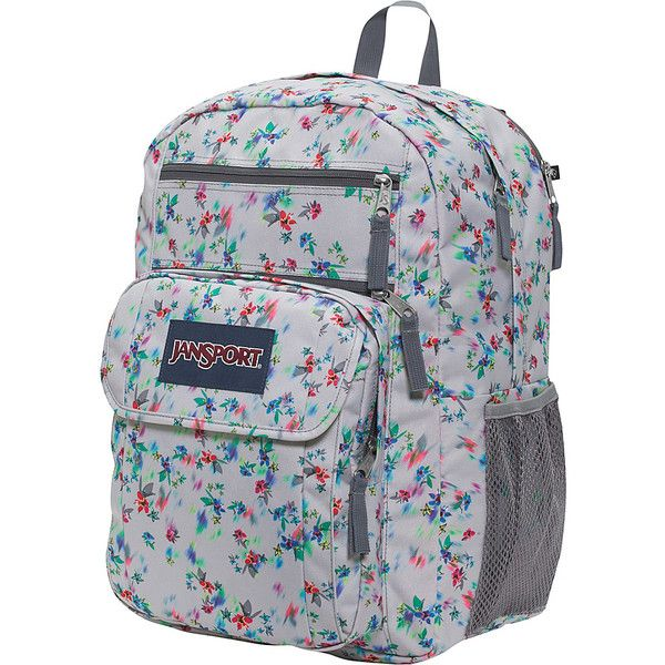 JanSport Digital Student Laptop Backpack- Discontinued Colors - Multi...  ( 35) ❤ liked on Polyvore featuring bags cf5a9418e2972