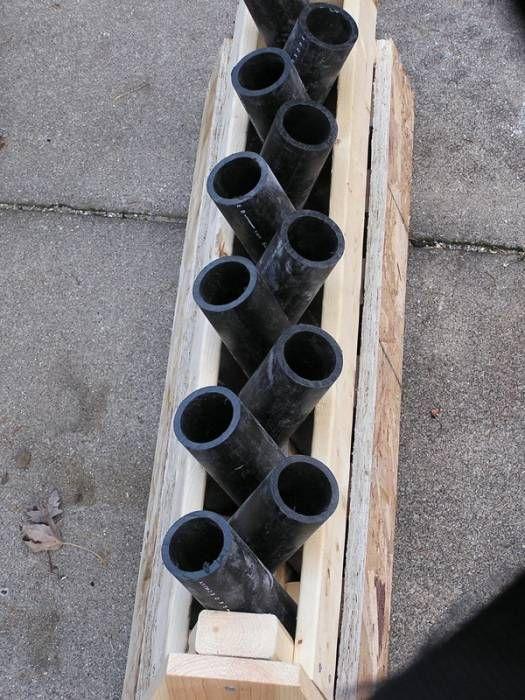 DIY Criss Cross Mortar Rack | DIY Survival Tips | Mortar
