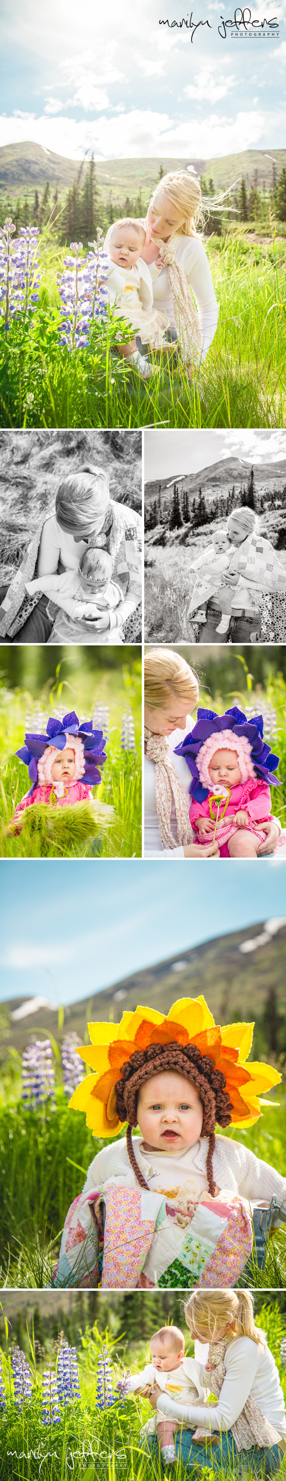 #Family Picture Ideas: Modern Mountain Family