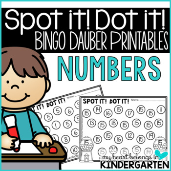 Number Recognition Pages for Math Centers | Number recognition, Math ...