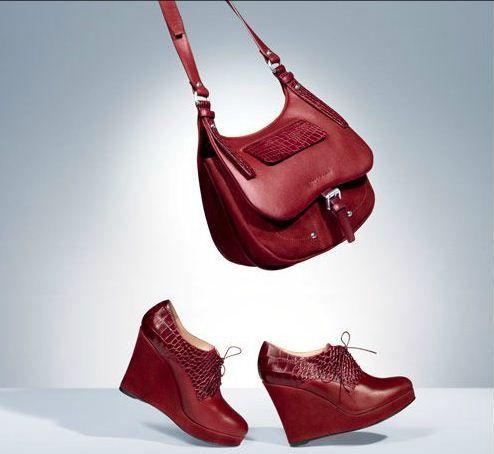 chaussures rouges longchamp hiver 2013