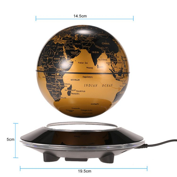 Creative world map magnetic levitation floating globe home decor is creative world map magnetic levitation floating globe home decor is novelty newchic mobile gumiabroncs Image collections
