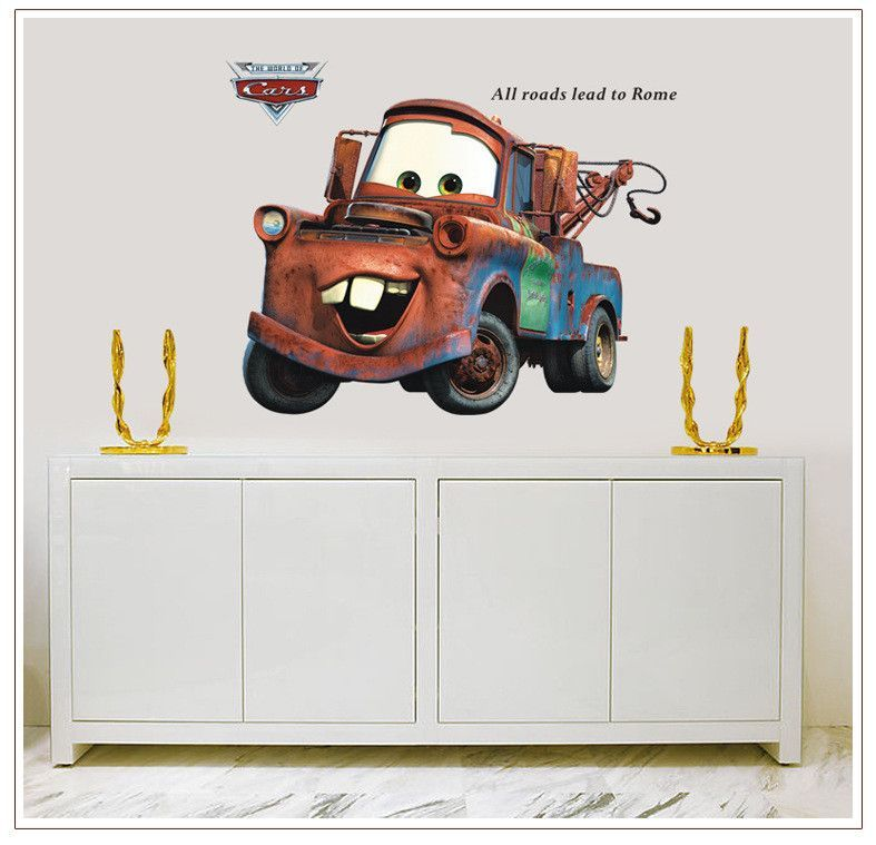 Disney/Pixar Cars Lightning McQueen And Mater Wall Stickers