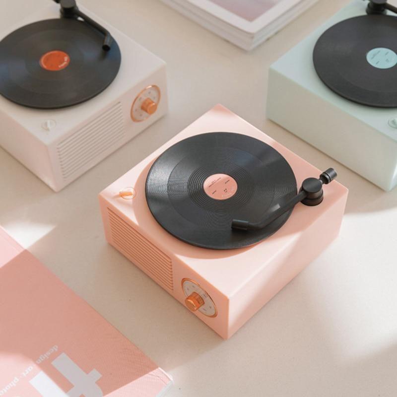 Retro Vinyl Wireless Speaker