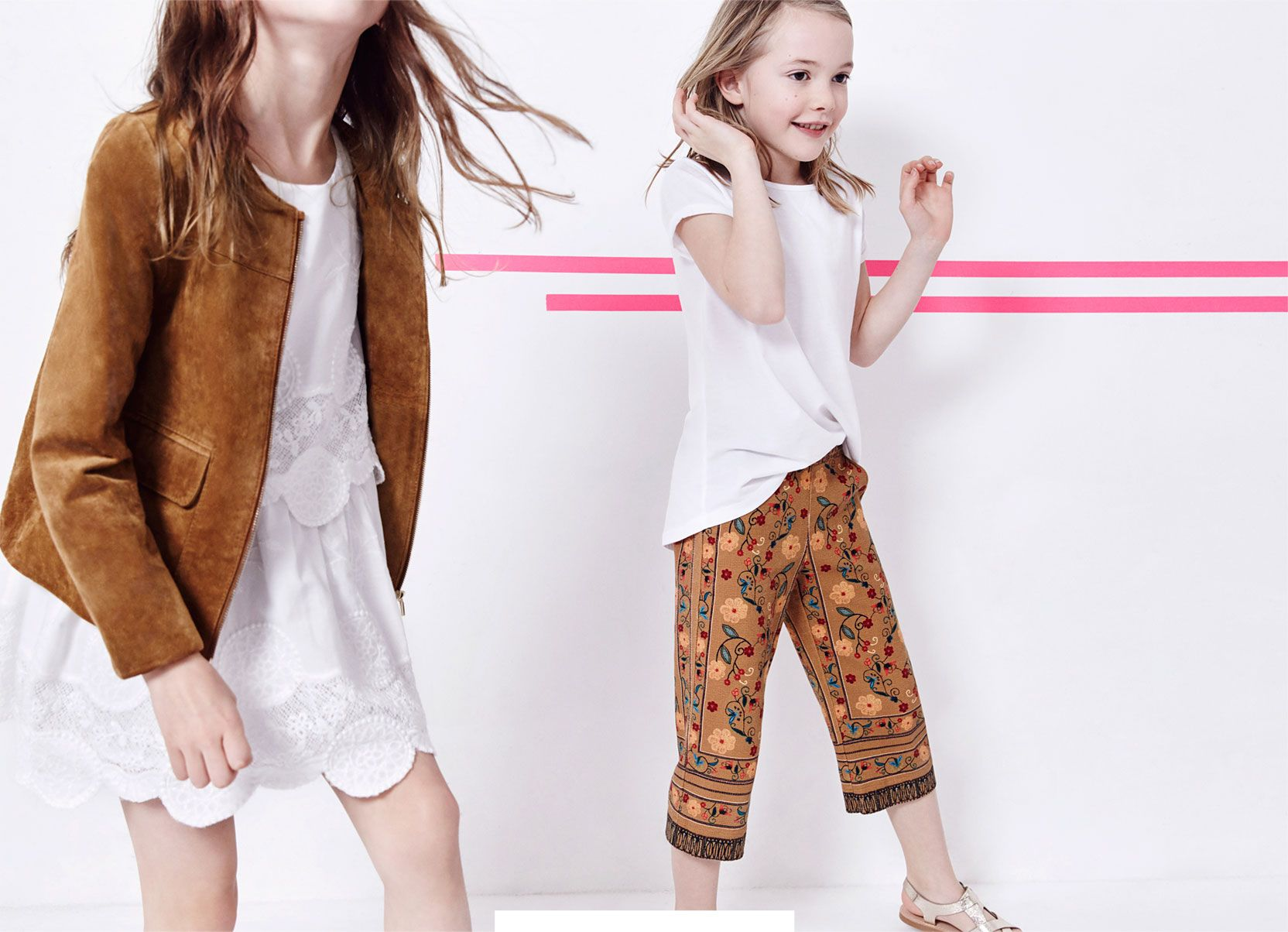 aaf6a5c35 ZARA - #zaraeditorials - GIRLS / THE SPRING REPORT | Children's ...