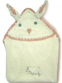 Bunny blanket for babies
